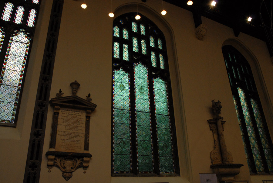 The nave windows