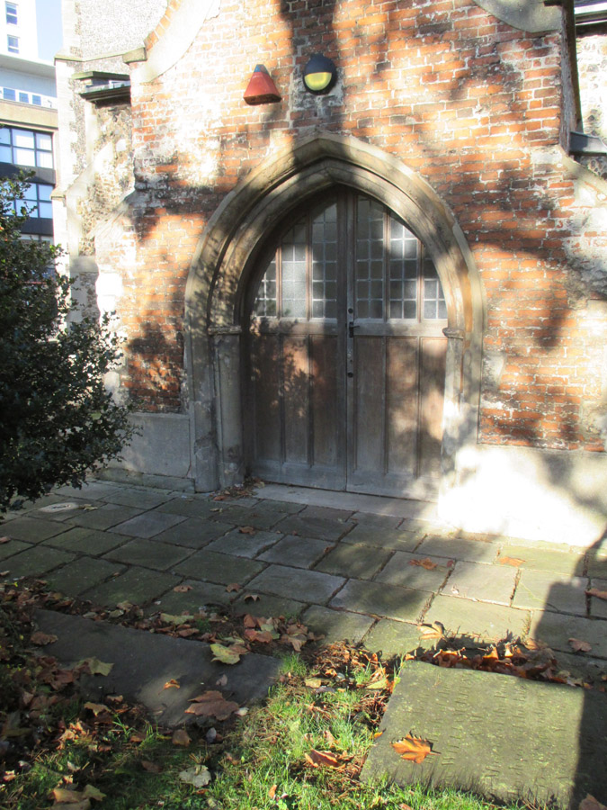 St Nicholas church door